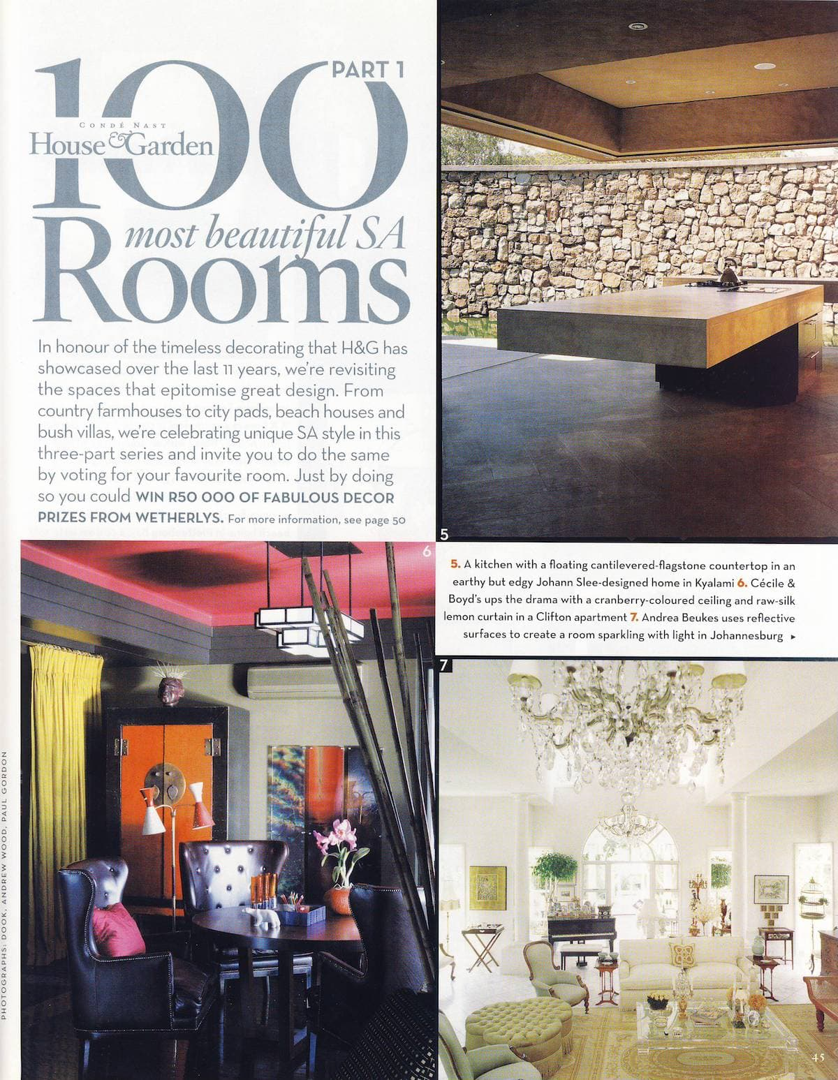 2009 House & Garden Most Beautiful Rooms Pg01